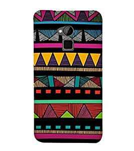 Colorful Abstract Design 3D Hard Polycarbonate Designer Back Case Cover for HTC One Max