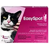 Easyspot 6pk Cat Flea & Tick
