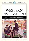 Western Civilization: the Continuing Experiment Volume II (v. 2) (0618561927) by Noble, Thomas F. X.