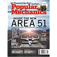 4-Year (40 Issues) of Popular Mechanics Magazine Subscription