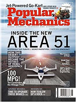 4-Yr. Popular Mechanics Magazine Subscription