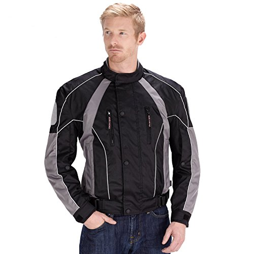 VikingCycle Thor Motorcycle Jacket for Men (3XL) (Thor Motorcycle Gear compare prices)