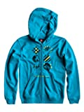Quiksilver Youth G6 Boy's Zip-Up Hoody blue Mediterranean Size:12 Jahre