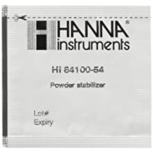 Hanna Instruments HI 84100-54 Stabilizer Reagent for HI 84100-01 Mini Titrator (1 Box of 25 Pieces)