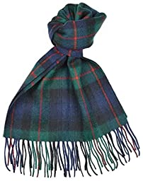 Lambswool Scottish Murray Of Atholl Modern Tartan Clan Scarf Gift