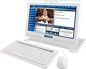 Telikin TLMS18T3202W Home Desktop Computer (White)