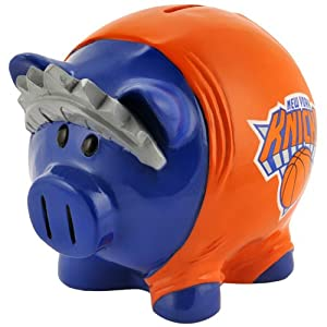 New York Knicks Small Thematic Piggy Bank by Forever Collectibles