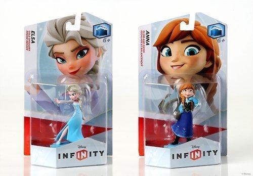 DISNEY INFINITY Elsa and Anna Figures Bundle (Disney Infinity Figure Anna compare prices)