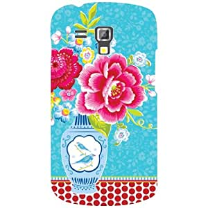 Samsung Galaxy S Duos 7562 Pink Flowers Matte Finish Phone Cover - Matte Finish Phone Cover