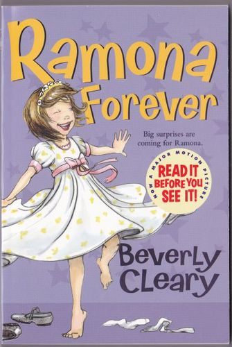 Ramona Forever Beverly Cleary Alan Tiegreen