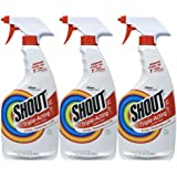 Shout Triple-Acting Laundry Trigger 22 oz (Pack Of 3)