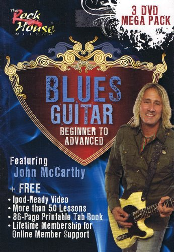 John McCarthy, Blues Guitar Mega Pack