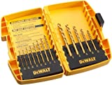 DEWALT DW1363 13-Piece Titanium Split-Point Twist Drill-Bit Assortment