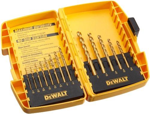 "DeWALT 1//8/"" Extended Black Oxide General Purpose Drill Bit DW1602 2-Pack"