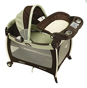 Graco Silhouette Pack n Play Play Yard - SweetPea from the Sprout 'n Grow Collection