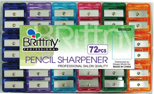 Brittny Pencil Sharpener 24-Count (Pack of 6)
