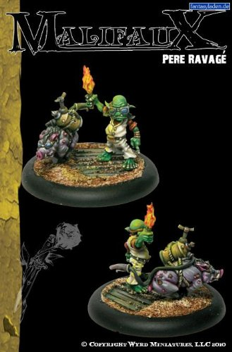 Outcasts: Pere Ravage & Gas Pig by Wyrd Miniatures