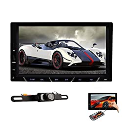 See Android System Car PC 7' Universal 2 Din Android 4.2 Car Radio Video Player Phone Mirroring NO DVD GPS+Wifi+BT+Stereo+Capacitive+Audio+Headunit+Car PC In Dash + Free Camera Details