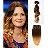 Moresoo Remy(Remi) Human Hair Multi-Colors Clip In Extensions 7 Pieces(Pcs) Full Head Set[Set Weight:4.2oz/120grams]