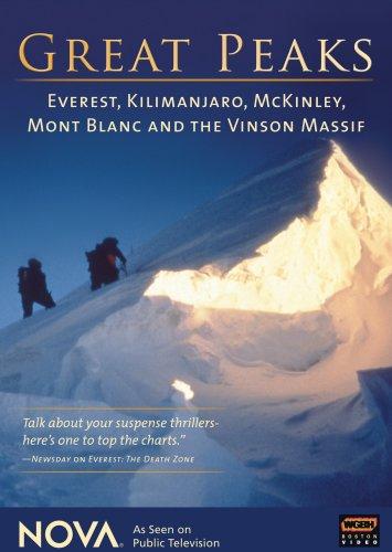 Nova: Great Peaks - Everest Kilimanjaro Mckinley [DVD] [Import]