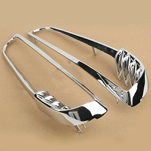 Chrome Radiator Right & Left Trim Bezels For Harley Davidson V-Rod VRSC VRSCDX (Vrod Air Ride Suspensions compare prices)