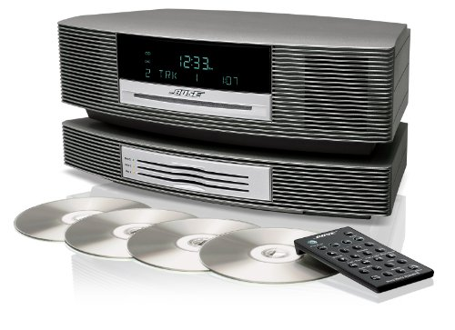 Wave® Music System Iii With Multi-Cd Changer - Titanium Silver