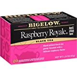 Bigelow Raspberry Royale Tea Bags - 20 ct (Pack of 2) (Tamaño: 20 Count (Pack of 2))