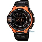 Casio PRG270-4 Men's Triple Sensor Ver. 3 Tough Solar Digital Chrono Watch