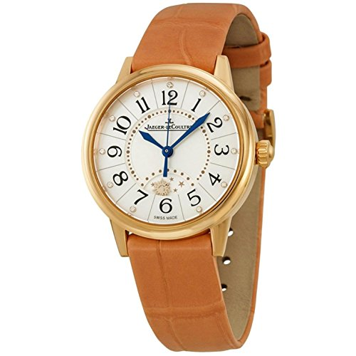 jaeger-lecoultre-womens-rendez-vous-brown-leather-band-steel-case-automatic-mop-dial-watch-q3462590