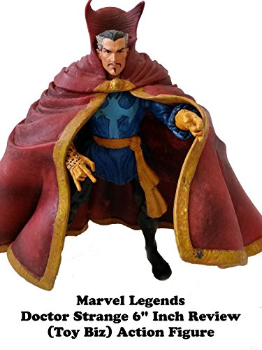 "Marvel Legends DR STRANGE Review 6"" inch (Toy Biz) action figure"