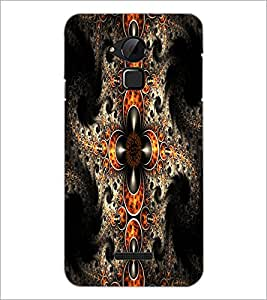 PrintDhaba Pattern D-1213 Back Case Cover for COOLPAD NOTE 3 LITE (Multi-Coloured)