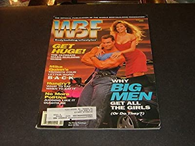 WBF Bodybuilding Lifestyle Feb '92 Get Huge Mike Quinn