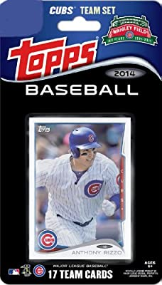 2014 Topps Chicago Cubs Factory Sealed Special Edition 17 Card Team Set with Starling Castro Wrigley Field Plus