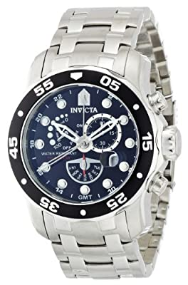 Invicta Men's 6086 Pro Diver Collection Power Reserve Stainless Steel Watch