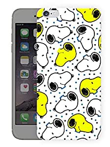 """Humor Gang Snoopy Yellow Dog Printed Designer Mobile Back Cover For """"Apple Iphone 6 PLUS - 6S PLUS"""" (3D, Matte, Premium Quality Snap On Case)"""
