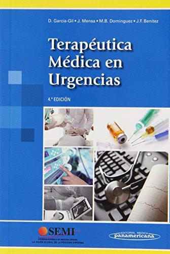 TERAPEUTICA MEDICA EN URGENCIAS