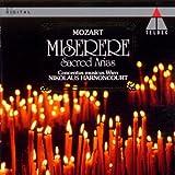 echange, troc Wolfgang Amadeus Mozart, Harnoncourt - Miserere - Arias Sacrés