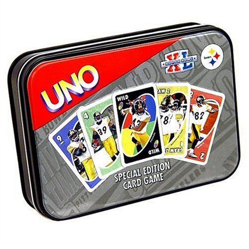 Buy Sababa Toys Pittsburgh Steelers UNO