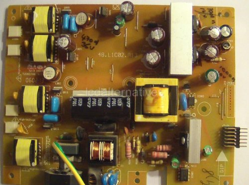Repair Kit, Benq Fp71G, Lcd Monitor, Capacitors, Not The Entire Board