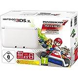 Nintendo 3DS XL - Konsole, weiß + Mario Kart 7 (vorinstalliert) - Limitierte Edition
