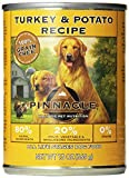 Pinnacle Turkey and Potato Grain Free Formula for Dogs, 13.2-Ounce Cans, Case of 12