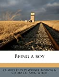 img - for Being a boy book / textbook / text book