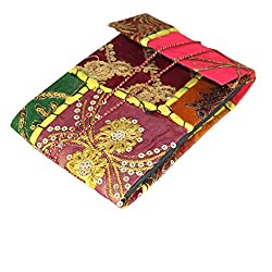 R S Jewels Multi Colour Handmade Paper Photo Album 7X5 Inch