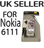 Nokia 6111 Pink & Silver Keypad Case Seller UK (Y55)
