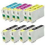 10x Cartridges Compatible for Expression Premium XP-600 XP-605 XP-700 XP-800 Epson TE2631 TE2632 TE2633 TE2634