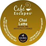 Keurig, Café Escapes, Chai Latte, K-Cup packs, 0.4 Ounce, 50 Count