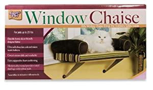 Lazy pet window chaise pet window perches for Cat window chaise