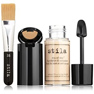 stila Stay All Day Foundation, Concealer & Brush Kit, Fair