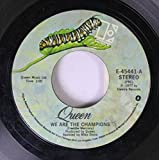 QUEEN 45 RPM We Are the Champions / We Will Rock You
