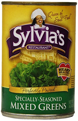 Sylvia's Mixed Greens, 14.5 Ounce Packages (Pack of 12) (Canned Mixed Vegetables compare prices)